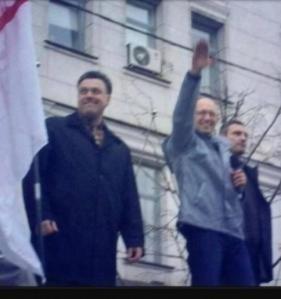 Arsenij Jaceniuk - faszysta banderowiec